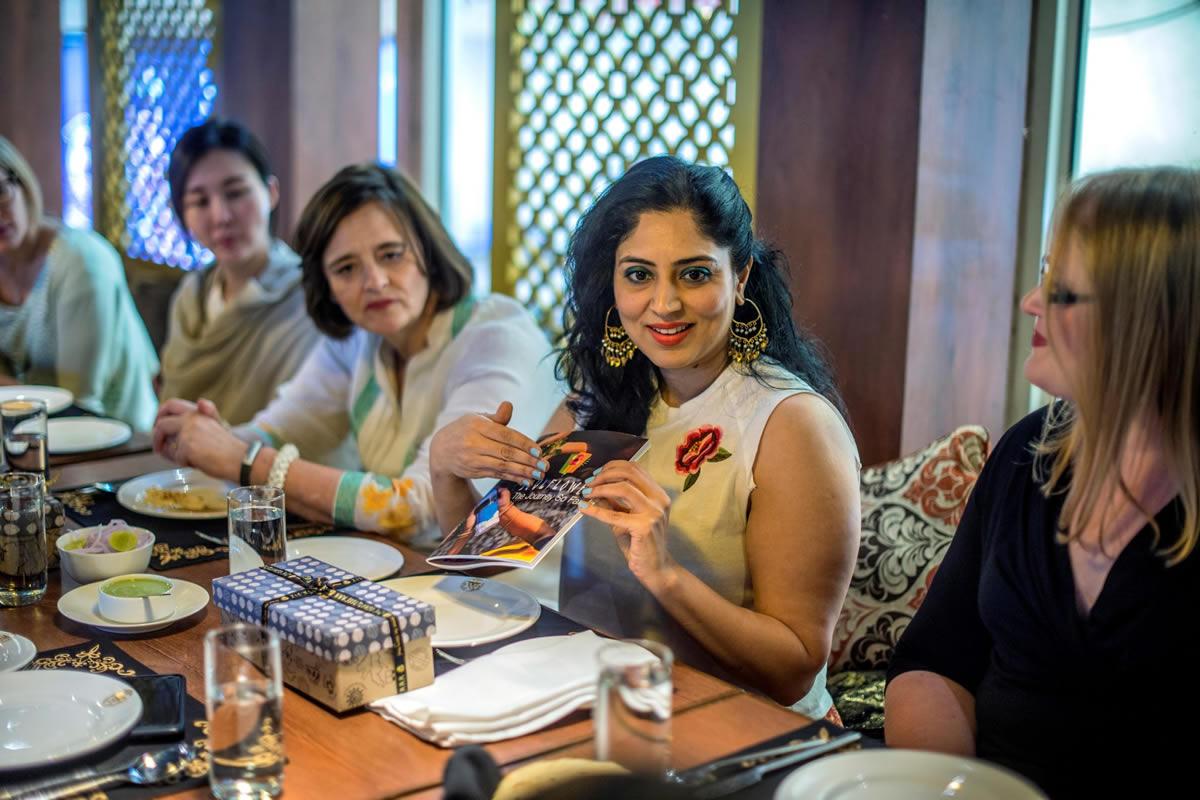 Kitty Party of Janvi Mahajan